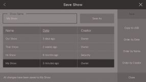 Save Show